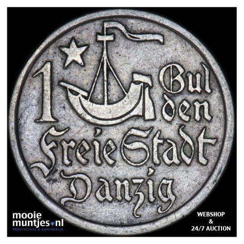 gulden - Danzig 1923 (KM 145) (kant B)