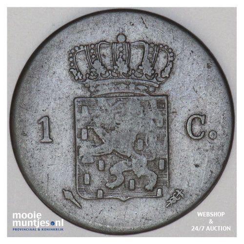 1 cent - Willem I - 1819 Utrecht (kant B)
