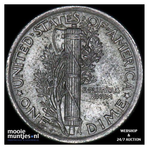 dime - mercury - United States of America 1923 (KM 140) (kant B)