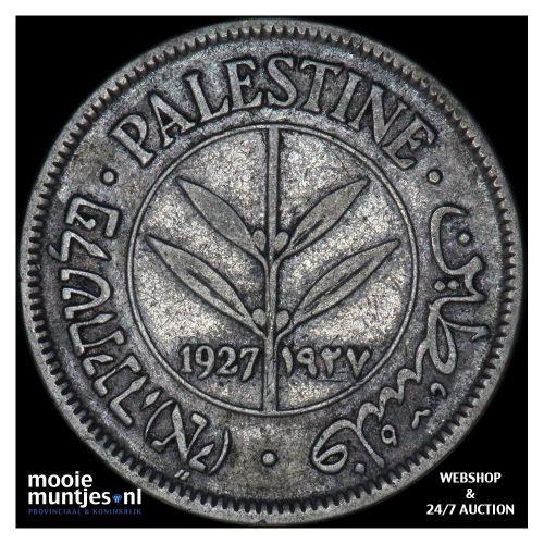 50 mils - Palestine 1927 (KM 6) (kant A)