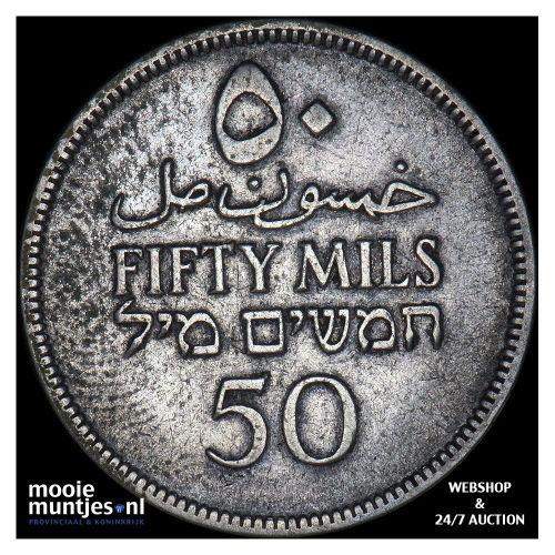 50 mils - Palestine 1927 (KM 6) (kant B)