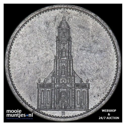 5 reichsmark - Germany-Third Reich 1934 A (KM 83) (kant B)