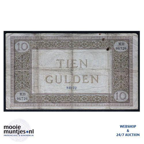10 gulden  - 1894 (Mev. 34-4 / AV 24) (kant B)