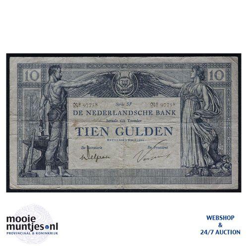 10 gulden  - 1904 (Mev. 36-4b / AV 25) (kant A)