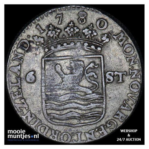Zeeland - Scheepjesschelling - 1780 over 70 (kant A)