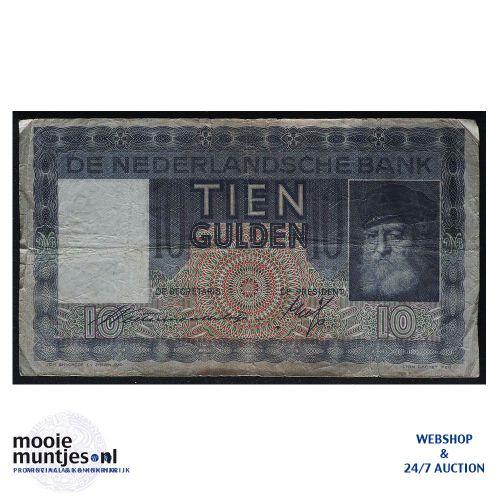 10 gulden  - 1933 (Mev. 40-1b / AV 29) (kant A)