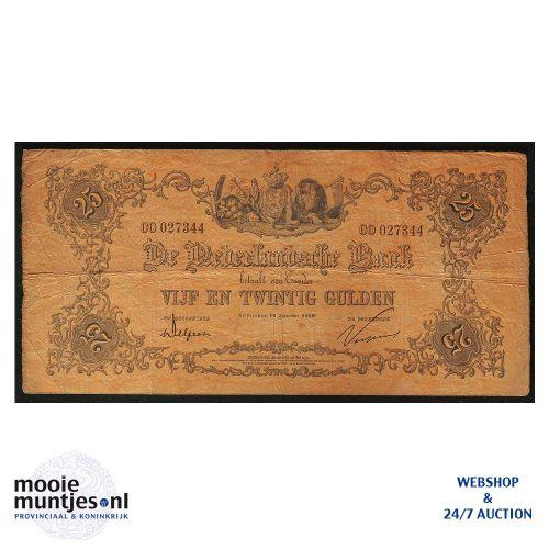 25 gulden - 1860 (Mev. 71-10 / AV 45) (kant A)
