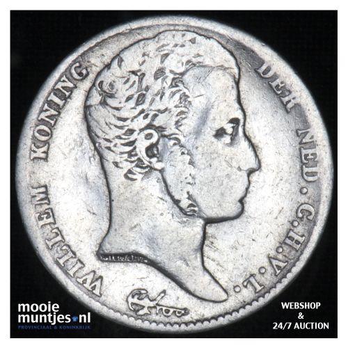 ½ gulden - Willem I - 1819 (kant B)
