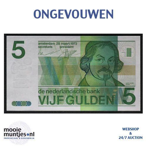 5 gulden - 1973 (Mev. 24-1 / AV 19) (kant A)