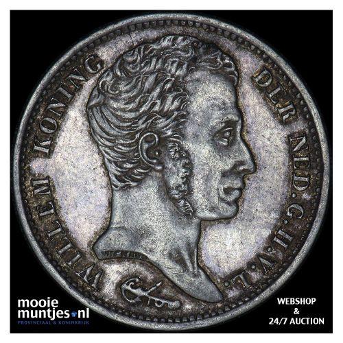 1 gulden - Willem I - 1837 (kant B)