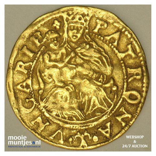 Overijssel - Hongaarse gouden dukaat - z.j. (1590-1593) (kant A)