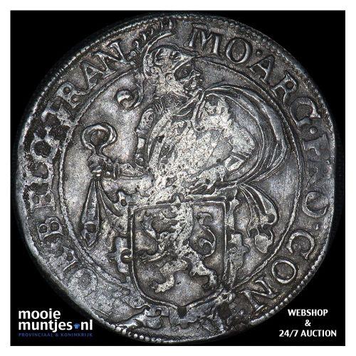 Overijssel - Halve leeuwendaalder - 1616 (kant B)
