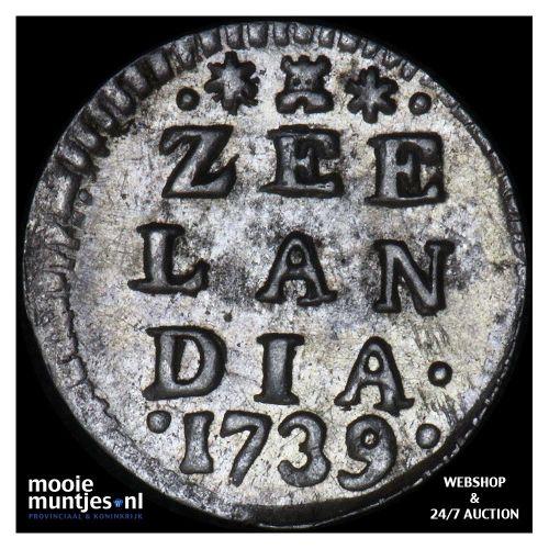 Zeeland - Pijl- of bezemstuiver - 1739 MPO (kant A)