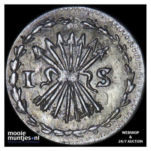 Zeeland - Pijl- of bezemstuiver - 1761 over 60 MPO (kant B)