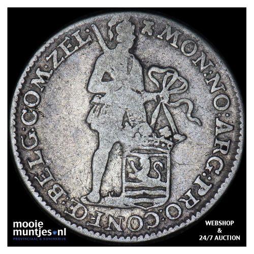 Zeeland - Achtste dukaat of Pietje - 1788 over 86 (kant B)