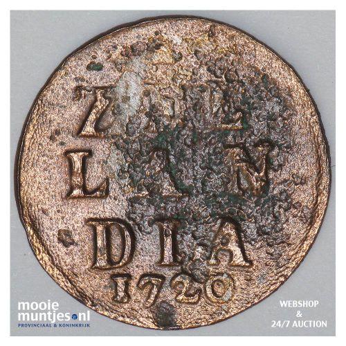 Zeeland - Duit - 1720 (kant A)
