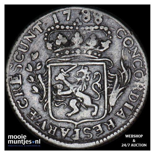 Zeeland - Achtste dukaat of Pietje - 1788 over 86 (kant A)