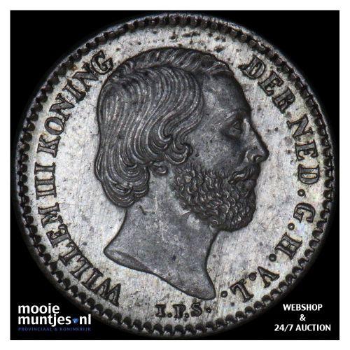 10 cent - Willem III - 1889 (kant B)