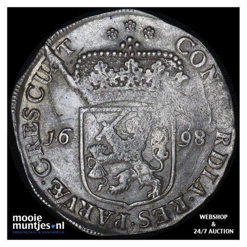 Zeeland - Zilveren dukaat - 1698 (kant A)