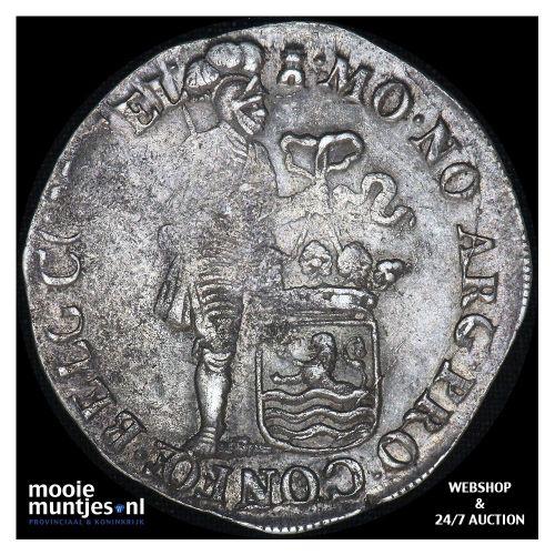 Zeeland - Zilveren dukaat - 1698 (kant B)