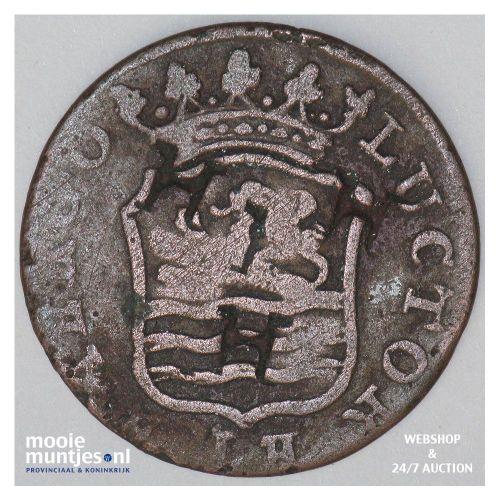 Zeeland - Duit - 1796 (kant B)