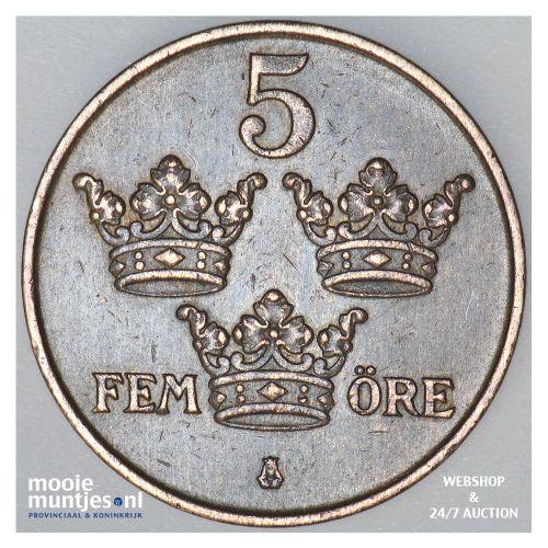 5 ore - Sweden 1913 (KM 779.2) (kant B)