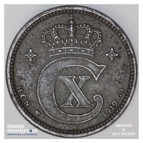 5 ore - Denmark 1919 (KM 814.2) (kant A)