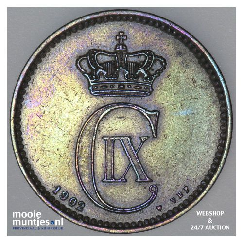 5 ore - Denmark 1902 (KM 794.2) (kant A)