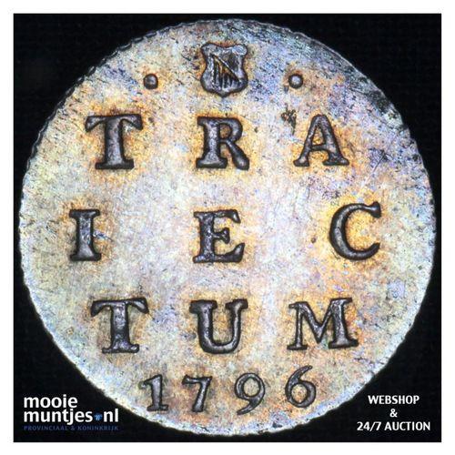 Utrecht - 2 stuiver - 1786 (kant A)