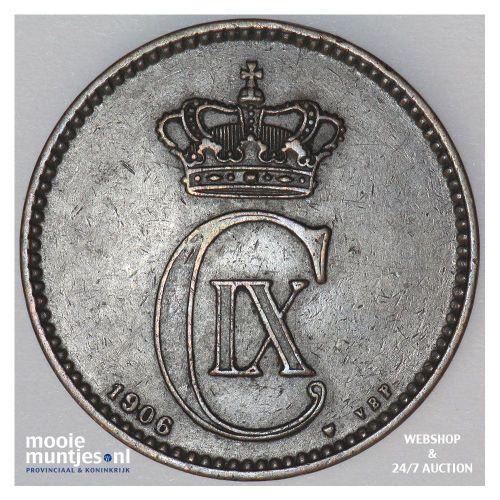 5 ore - Denmark 1906 (KM 794.2) (kant A)