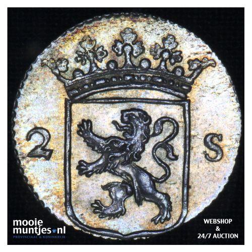 Utrecht - 2 stuiver - 1786 (kant B)
