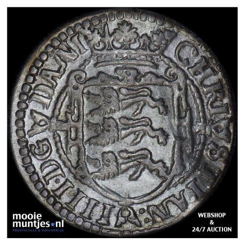 2 skilling - Denmark 1604 (KM 16.1) (kant B)