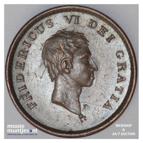 2 skilling - Denmark 1810 CI MPO (KM 670) (kant B)