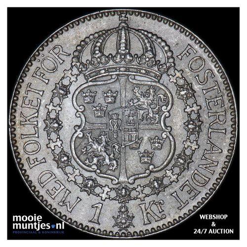 krona - Sweden 1924 (KM 786.1) (kant B)