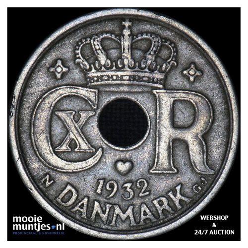 25 ore - Denmark 1932 (KM 823.2) (kant A)