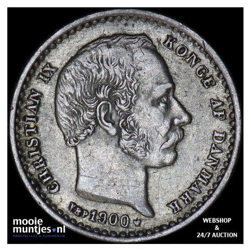 25 ore - Denmark 1900 (KM 796.2) (kant A)