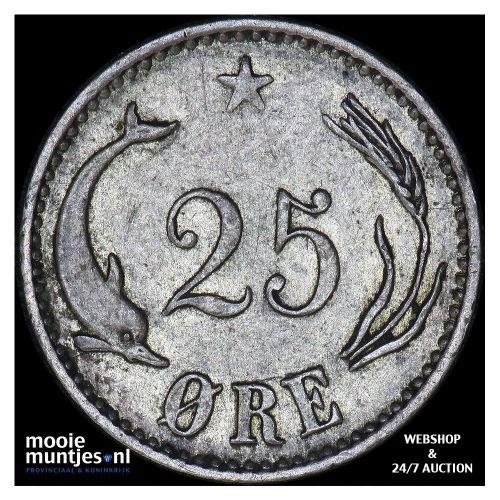 25 ore - Denmark 1900 (KM 796.2) (kant B)
