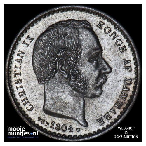 25 ore - Denmark 1904 (KM 796.2) (kant A)