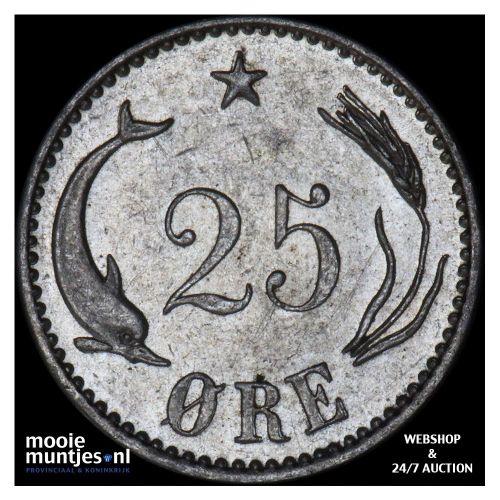 25 ore - Denmark 1904 (KM 796.2) (kant B)