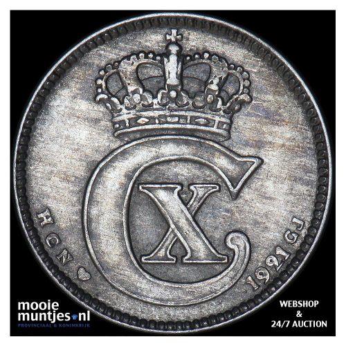 25 ore - Denmark 1921 (KM 815.2a) (kant A)