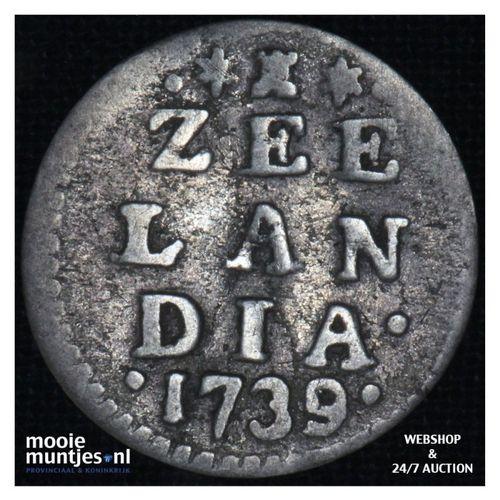Zeeland - Pijl- of bezemstuiver - 1739 (kant A)