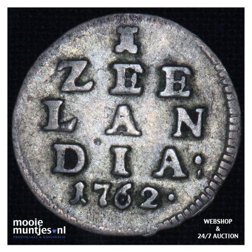 Zeeland - Pijl- of bezemstuiver - 1762 (kant A)