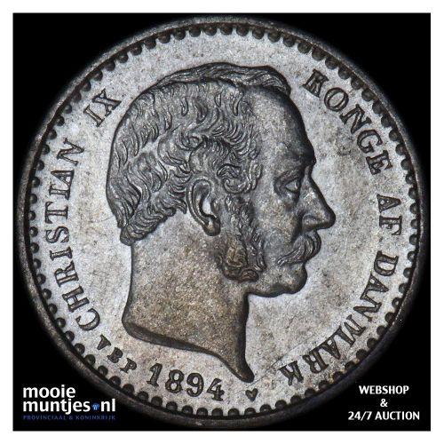 10 ore - Denmark 1894 (KM 795.2) (kant A)