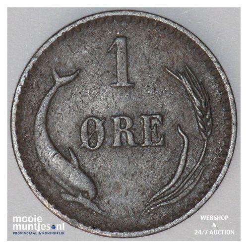 ore - Denmark 1879 (KM 792.1) (kant B)