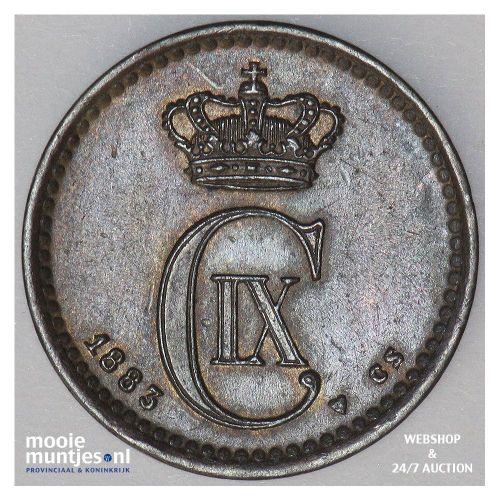 ore - Denmark 1883 (KM 792.1) (kant A)