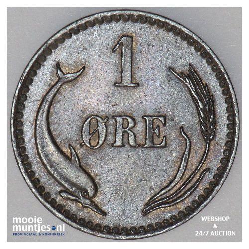 ore - Denmark 1883 (KM 792.1) (kant B)