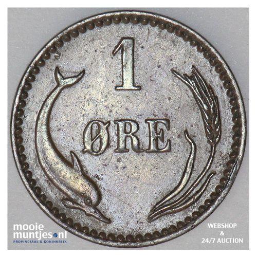 ore - Denmark 1886 (KM 792.1) (kant B)