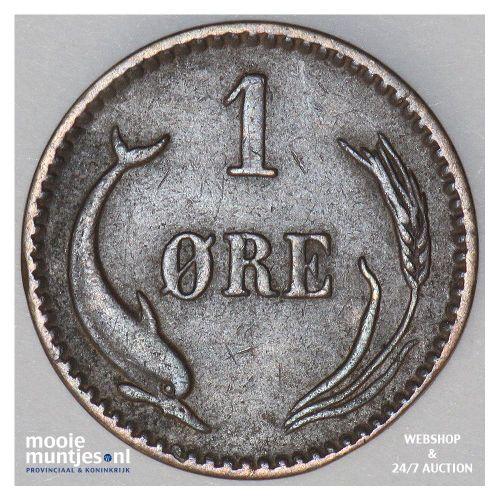 ore - Denmark 1887 (KM 792.1) (kant B)