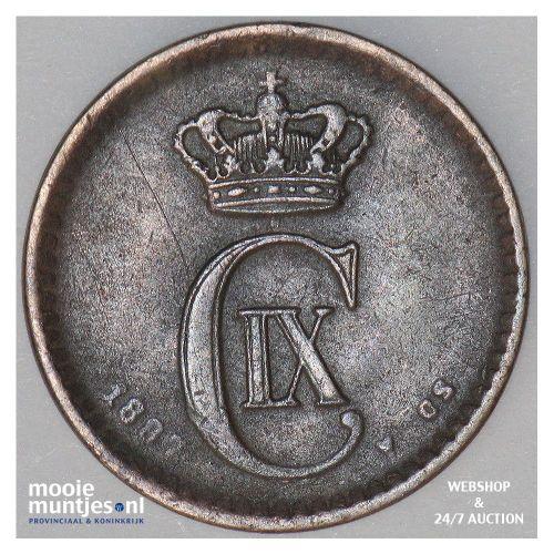 ore - Denmark 1887 (KM 792.1) (kant A)