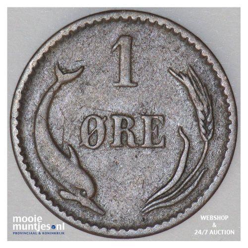 ore - Denmark 1888 (KM 792.1) (kant B)